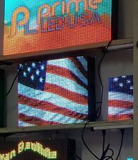 Double Sided Outdoor Programmable Led Sign Full Color Dip P10 19 X 2525