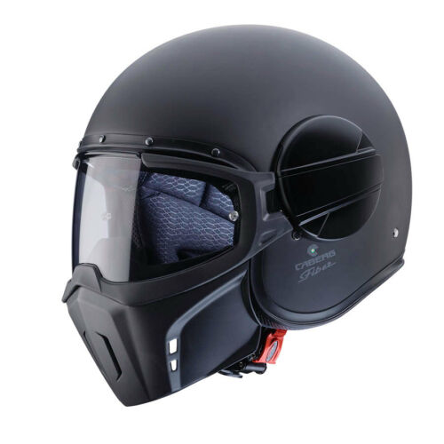Casco Caberg Ghost mat black nero opaco M helmet casque capacete helm moto