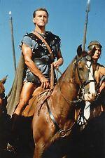 KIRK DOUGLAS SPARTACUS  1960 5 VINTAGE PHOTOS R70 LOT #2 STANLEY KUBRICK