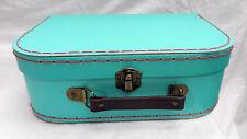 Retro Blue Suitcase Style Storage Box  - NEW
