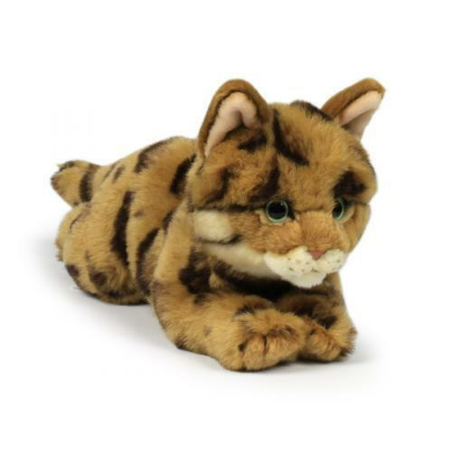 Bengal Cat 8 11 16in Soft Stuffed Toy Toy Toy Plush Collection Wwf 14774 41d818