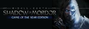 Middle earth Shadow of Mordor GOTY | Steam Key | PC | Digital | Worldwide |