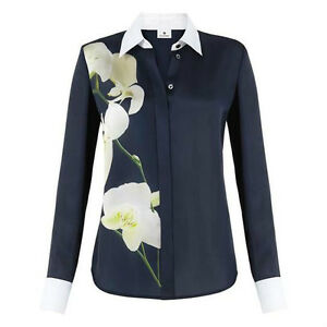 Target Orchidee Shirt Altuzarra Bluse Hemd Joseph Orchid Oxford Blau Neu For MVqSpUz