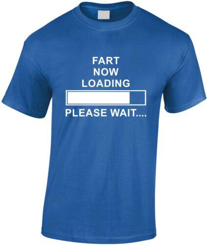 Fart Now Loading Please Wait Children/'s T Shirt Funny Kid/'s Tee Teen Xmas Gift