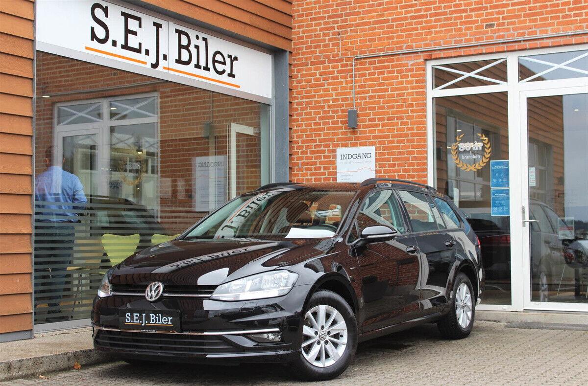 VW Golf VII 1,4 TSi 125 Comfortl. Variant DSG 5d - 209.800 kr.