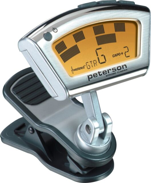 peterson stroboclip sc 1 clip on strobe tuner for sale online ebay. Black Bedroom Furniture Sets. Home Design Ideas