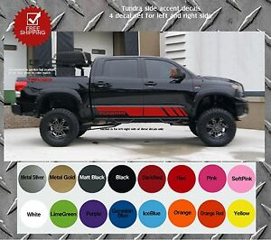 Toyota Tundra Truck Bed Side Decals Graphics Decals EBay - Truck decals and graphics