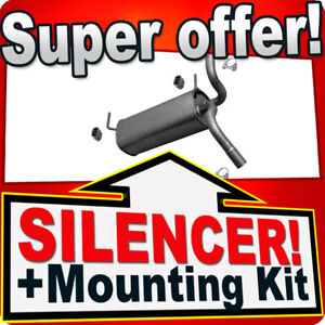 Silencer for Opel/Vauxhall Astra J 1.4 87/101HP Hatchback Saloon Estate Exhaust