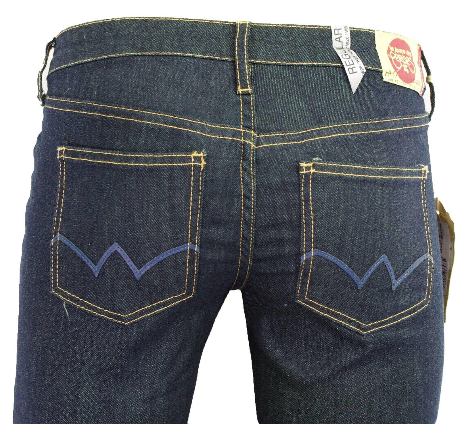 Jeans LE TEMPS DES CERISES droit 302 REGULAR foncé Donna  JF302 Sioux Dimensione W 24