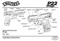 Walther P22 Pistol Owners Instruction And Maintenance Manual