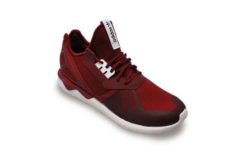 Herren Adidas Tubular Renner - B41274 - Burgund Weiße Weiße Weiße Sportschuhe 2eba3e