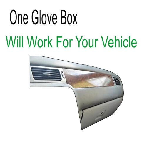 1 Glove Box Black Carpet Dash Cover Compatible w// 2008-13 Chevy Silverado 2500