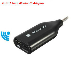 Car Wireless 3.0 Bluetooth 3.5mm Aux Receiver Adapter For Audio Phone Speaker
