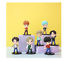miniature 12 - 7pcs/set BTS RM Jin Suga JHope Jimin V Jungkook Doll Toy Figure BANGTAN boys