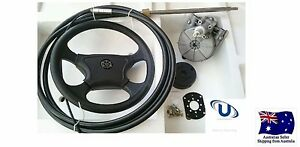 Boat-Steering-Kit-19FT-5-78metre-Cable-Teleflex-Ultraflex-Compatible-Multiflex