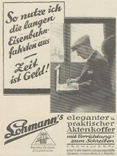 Y6860 LOHMANN'S Aktenkoffer -  Pubblicità d'epoca - 1929 Old advertising