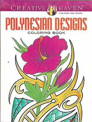 Polynesian Designs A Creative Haven Adult Coloring Book From Dover Publications
