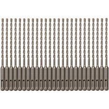 25pcs Sds Plus 316 X6 Rotary Hammer Concrete Masonry Drill Bit Carbide Tip