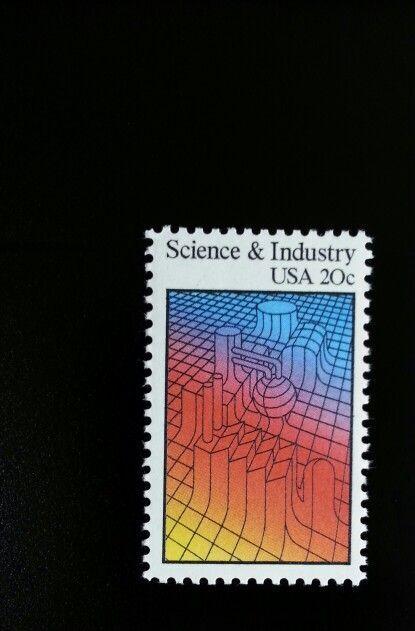 1983 20c Science & Industry Scott 2031 Mint F/VF NH