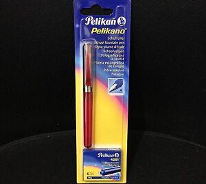 Pelikan Pelikano® Füller Rot transparent P460 Feder A