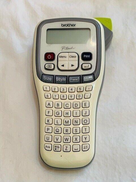 Brother PT-H110 Easy Portable Label Maker PTH110 Handheld Lightweight Used