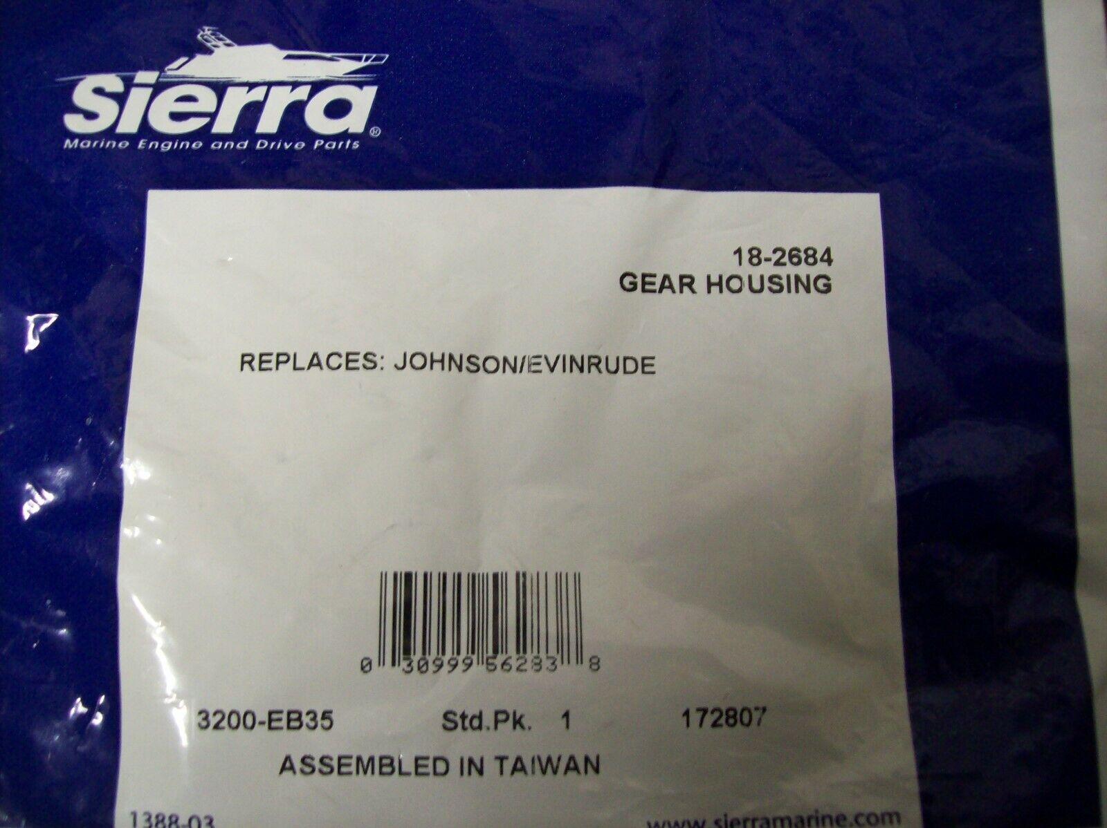 Sierra International 18-2687 Marine Lower Unit Seal Kit for Johnson//Evinrude Outboard Motor