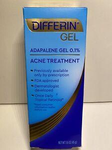 Differin Adapalene Gel 0 1 Retinoid Acne Pimple Treatment 1 6 Oz