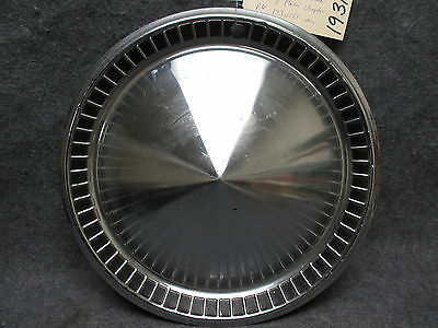 1957 Plymouth Hub Cap Wheel Cover Belvedere Savoy Plaza 1730797 Chrysler 19312