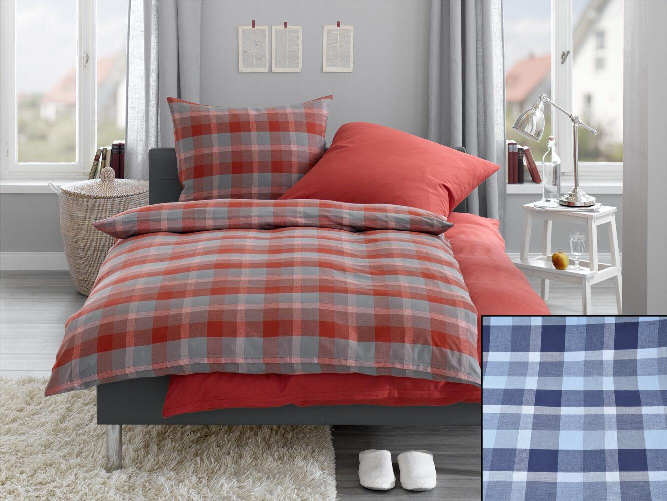 Bettwäschegarnituren Möbel & Wohnen Garnitur ° Neu ZuverläSsige Leistung Bettwäsche° Blautöne ° 2 X 2 Tlg