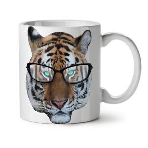 Tiger Hippie Wild NEW White Tea Coffee Mug 11 oz | Wellcoda