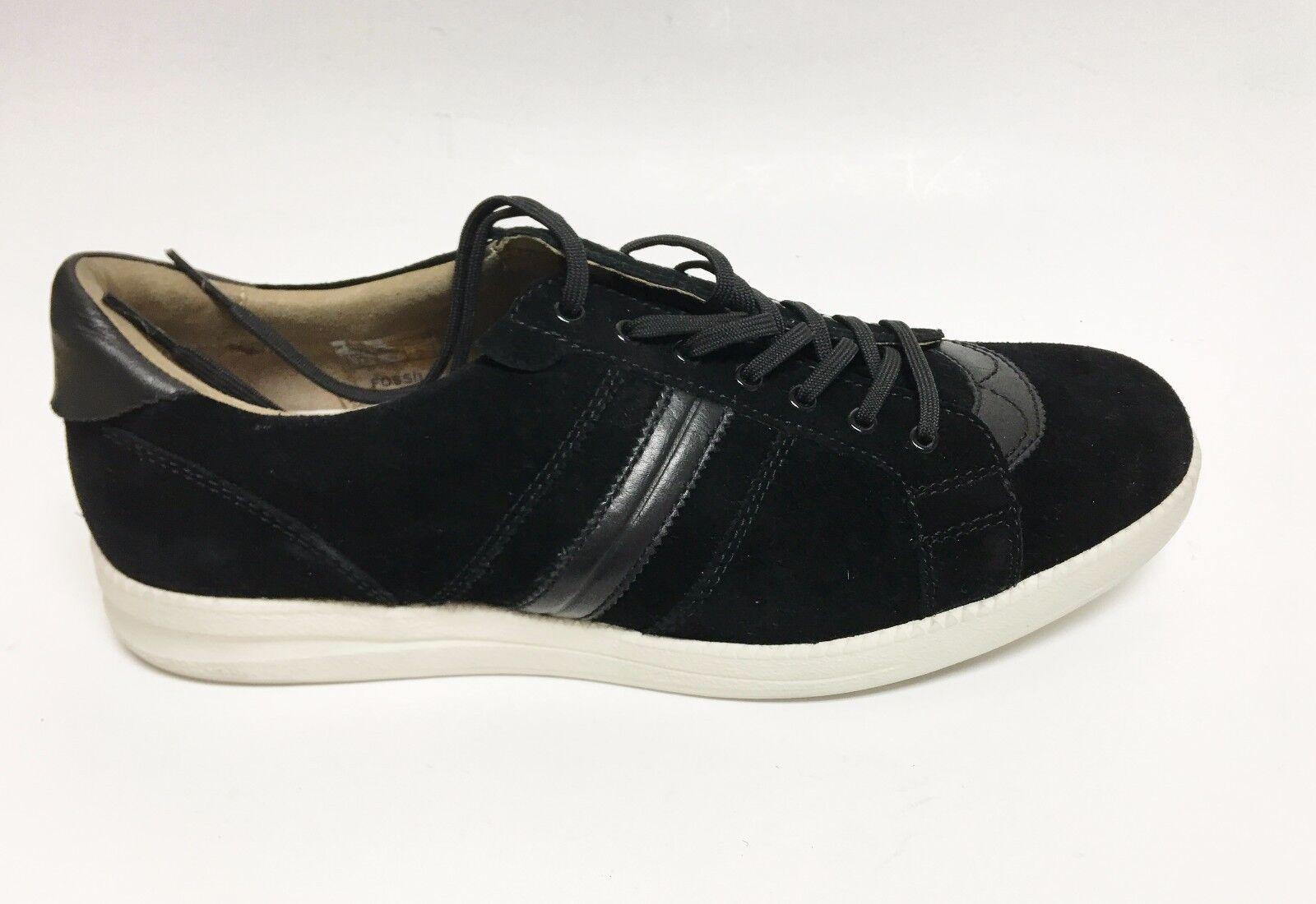Fossil Mazza Cuir Suédé , Cuir Noir Baskets Tennis Tennis Tennis HOMME Chaussures~ Size 11 a3e865