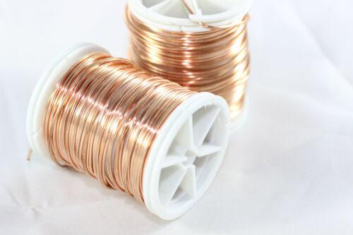 Copper Artistic Wire Jewellery Wire 18,20,22,28 Gauge, Non Tarnish Copper
