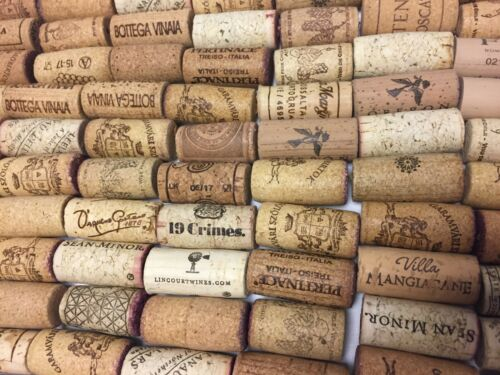 chipped or champagne corks Lot of 100 Wine Corks Natural No broken