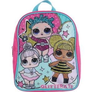 "Surprise lol Girl Kids Toddler Baby School Book bag Backpack Gift Toy 10/"" L.O.L"