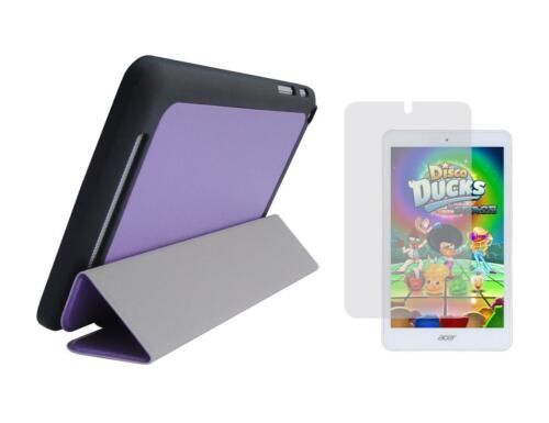 Screen Protector for Acer Iconia Tab 8 A1-860 Tablet Slim Folio Cover Case