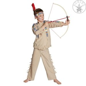Indianer 116 Kostum Karneval Fasching Halloween Verkleiden Neu
