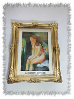 Aimant Magnet Tableau  Baigneuse Assise  Auguste Renoir Neuf