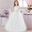 Vestidos de fiesta de graduación elegantes para niñas Ropa para niñas y bodas