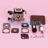Carburetor Fits STIHL FS38 FS45 FS46 FS55 KM55 FC55 Carb Air Filter Spark Plug
