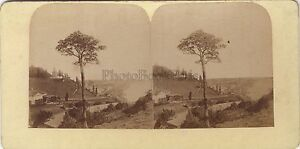 Panorama Da Kiew Kiev Ucraina Stereo Stereoview Vintage Albumina Ca 1860