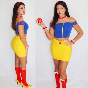 Adult costume sexy snow white