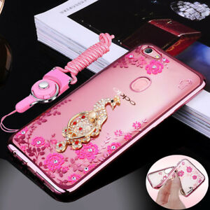 differently 954ff b4bd6 Details about Glitter Soft Silicone Bling Back Case Cover For OPPO F7 F9  A3S A5 R17 Pro