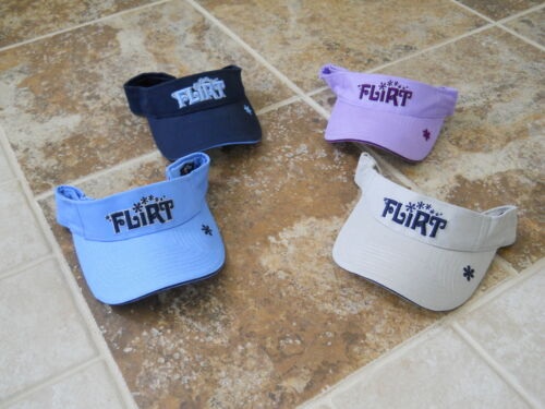 """NEW VIBE ADJUSTABLE WOMEN/'S VISOR /""""FLIRT/"""" NEW WITH TAGS FREE SHIPPING"""