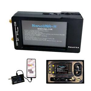 50K-1-5GHz-NanoVNA-H-HF-VHF-UHF-Netzwerkantennenanalysator-Gehaeuse