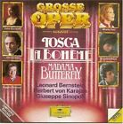 Puccini Great Opera Exerpts Tosca Et Al Very Good