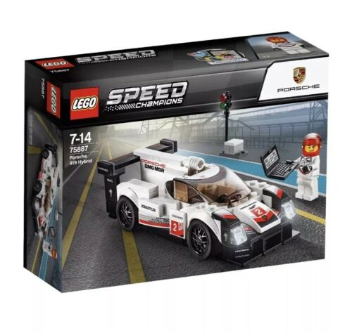 LEGO 75887 Speed Champions Porsche 919 Hybrid 163pcs New