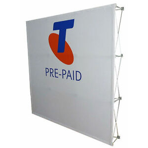 Fabric Exhibition Stand Up : Graphics go exhibition wall graphics displays go