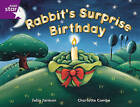 Rigby Star Guided 2 Purple Level: Rabbit's Surprise Birthday Pupil Book (Single) by Julia Jarman (Paperback, 2000)