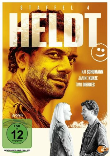 1 von 1 - Heldt - Staffel 4 - Kai Schumann - Janine Kunze  - 4 DVD Box