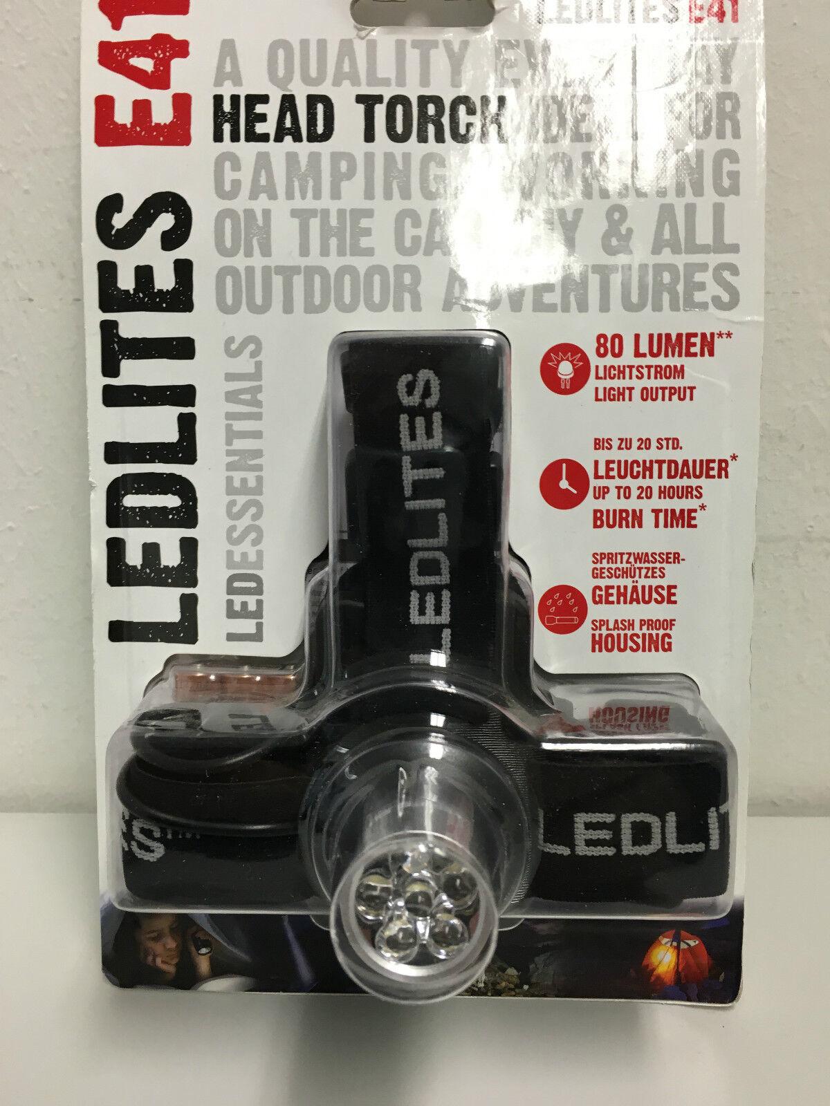 DEL Lenser LEDLITES E 41 Lampe frontale (Blister) (Blister) (Blister) 777292
